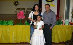 3rd Grade First Palce Valerie Quijano