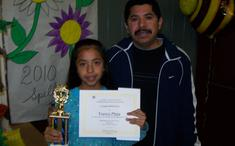 4rth Grade First Place Francis Mejia