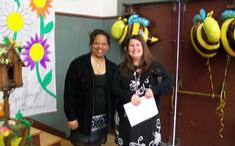 Presenters Mrs. Smith and Mrs. Mulka