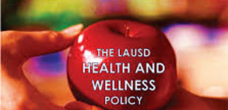 LAUSD blueprint for wellness cover page